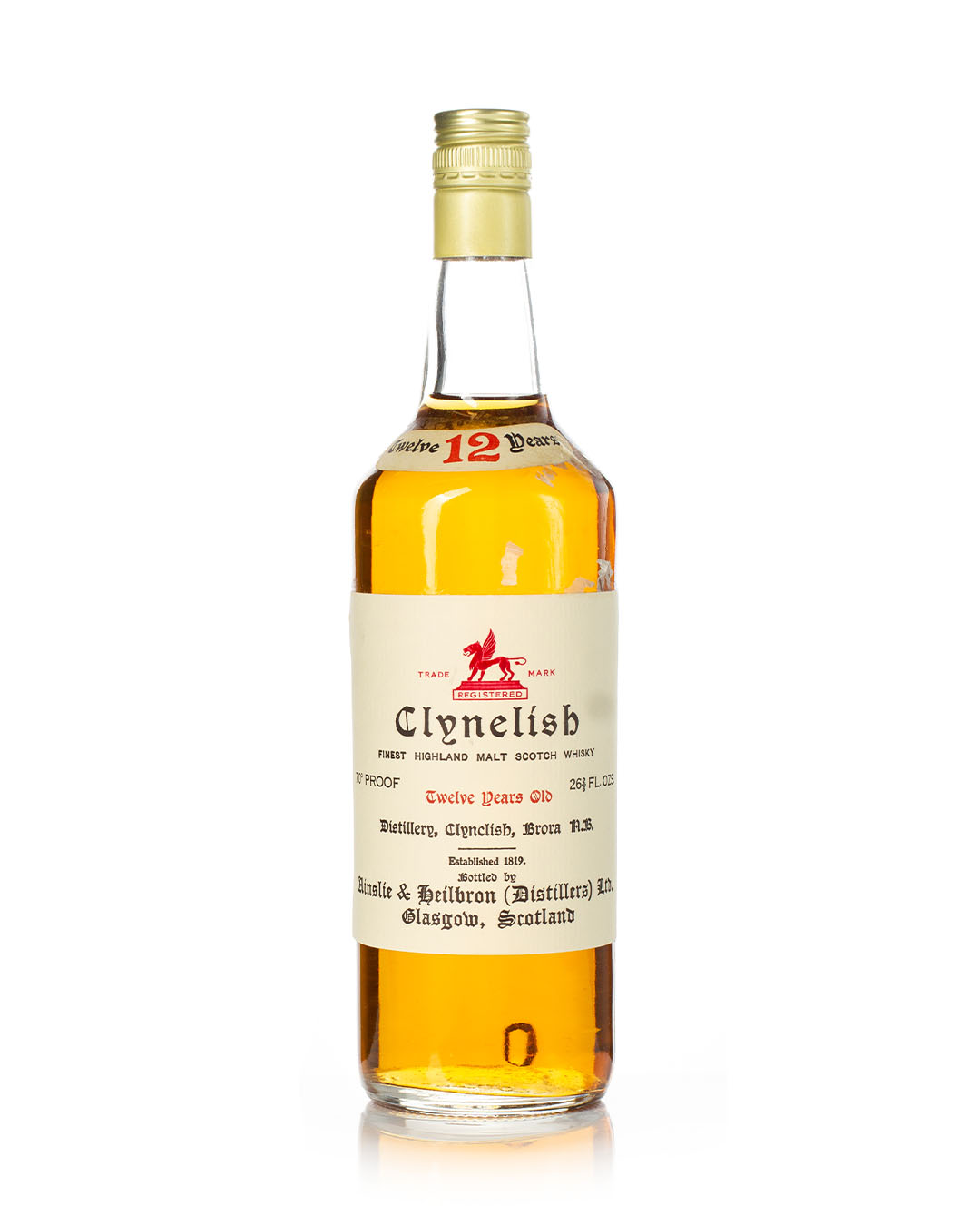 Buy Clynelish 12 year old 70 proof Ainslie & Heilbrown Ltd bottle