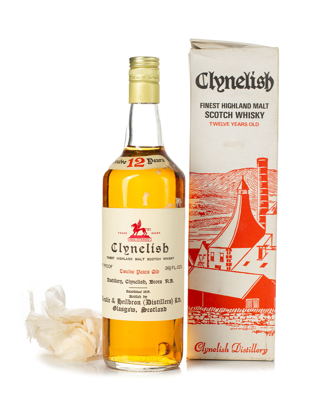 Buy Clynelish 12 year old 70 proof Ainslie & Heilbrown bottle and box