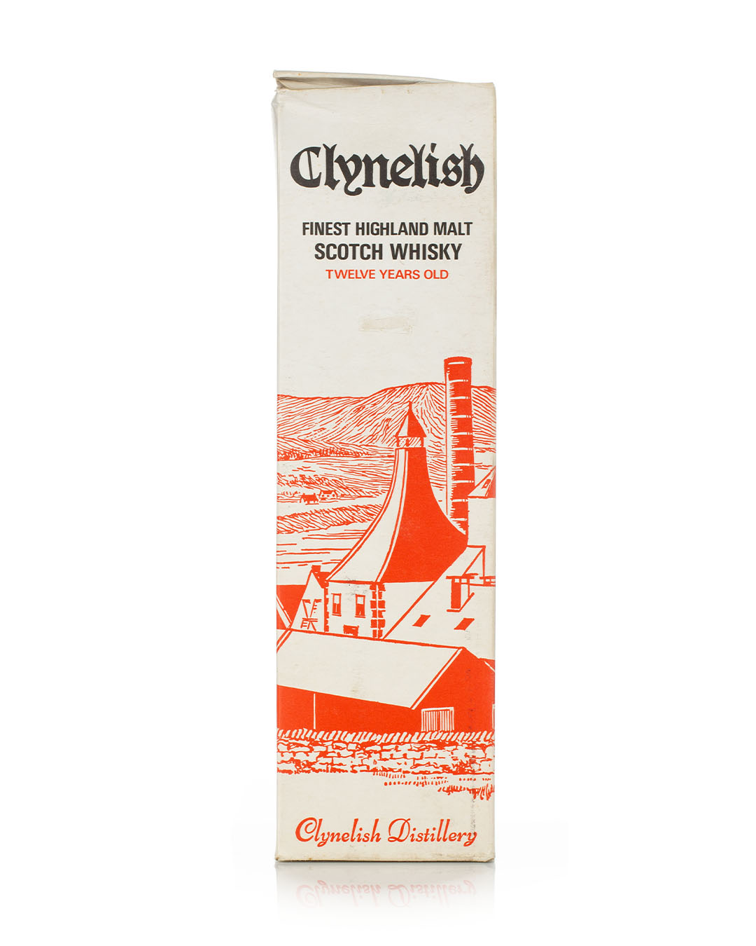 Clynelish 12 year old 70 proof Ainslie & Heilbrown box front