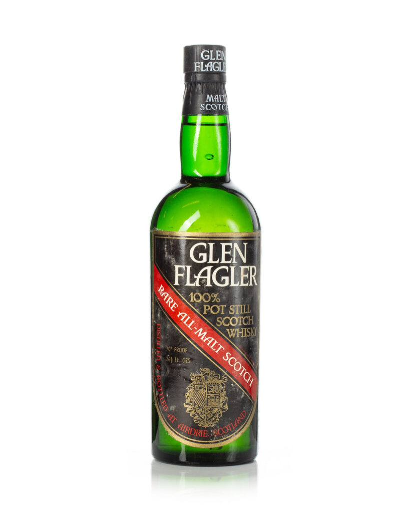 Glen Flagler 70 proof 1970s