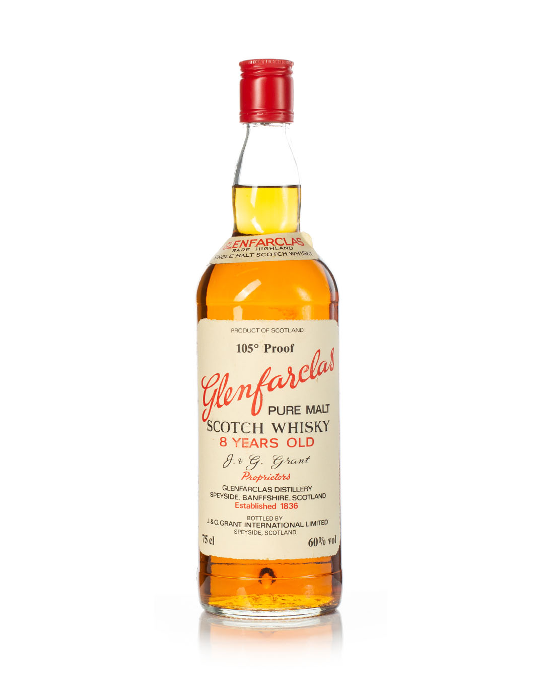 Glenfarclas 105 Proof 1980s