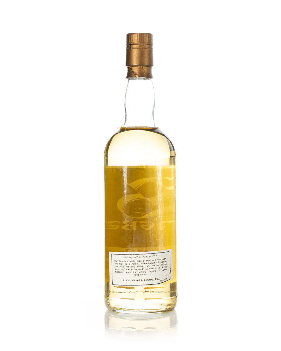 Springbank 12 year old 75cl reverse