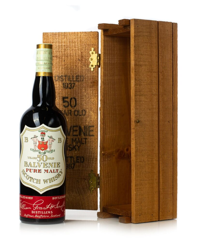 Buy Balvenie 1937 50 Year Old