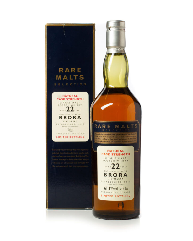 Buy Brora 1972 22 year old Rare Malt Selection with box