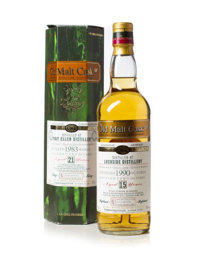 Buy Lochside 1990 Old Malt Cask with box