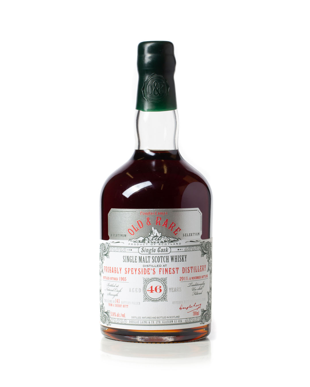 Probably Speyside's Finest Distillery 1965 46 year old