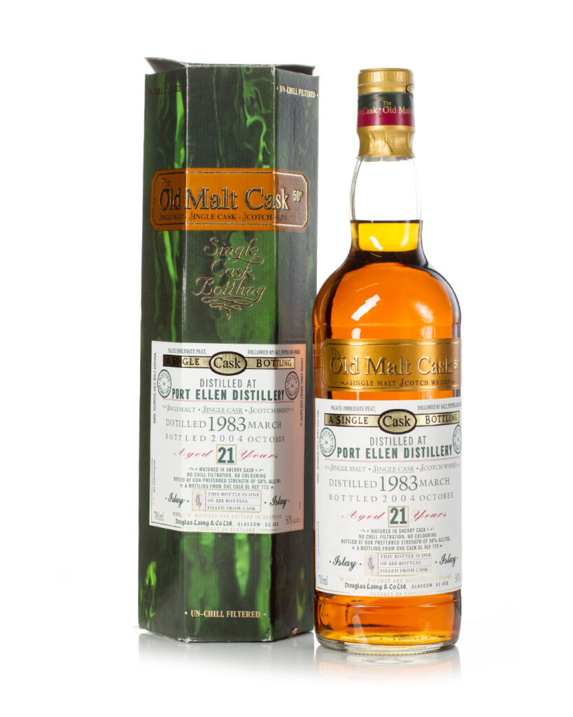 Buy Port Ellen 1983 21 year old Old Malt Cask with box