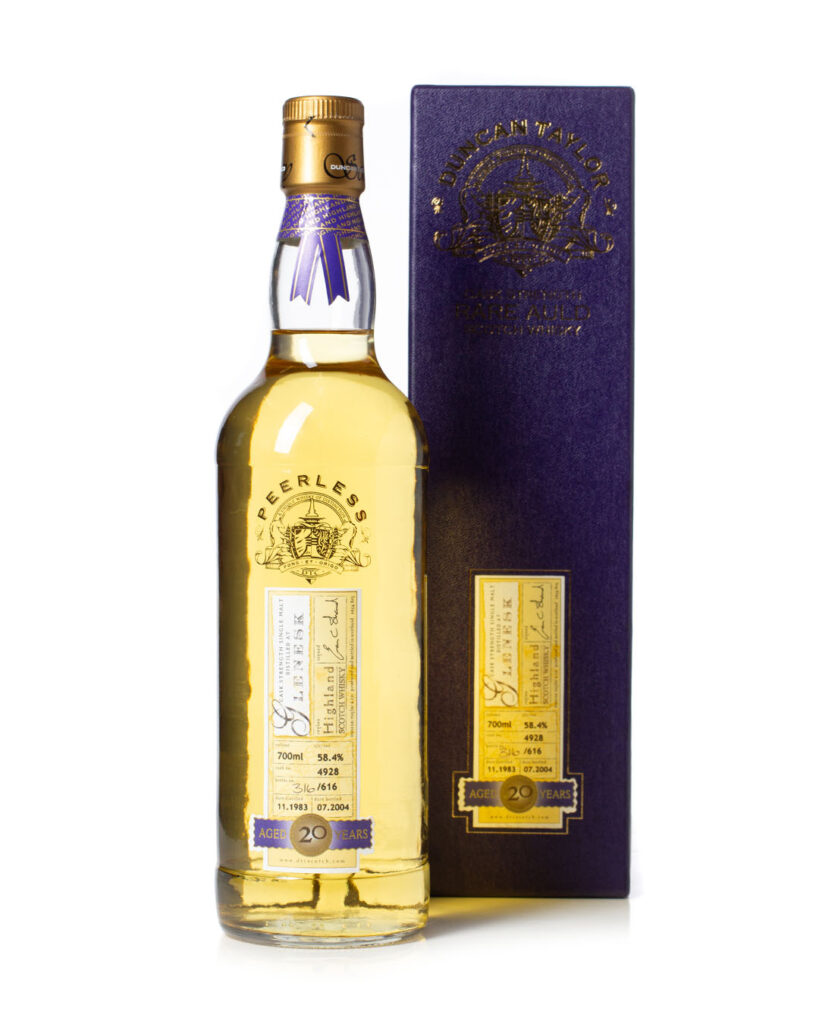 Glenesk 1983 20 Year Old Cask Strength Rare Auld