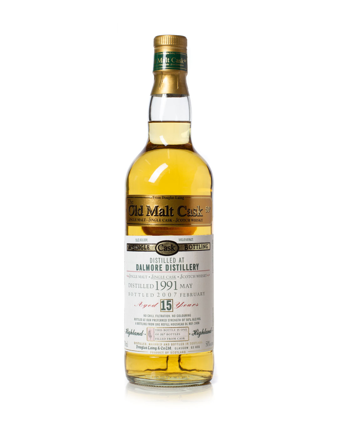 Buy Dalmore 1991 old malt cask