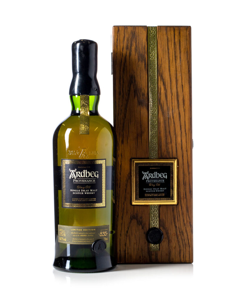 Buy Ardbeg 1974 Provenance with box