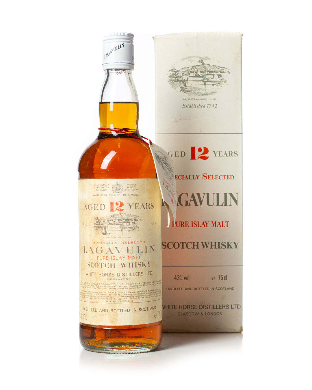 Buy Lagavulin 12 year old 75cl 1970s with box