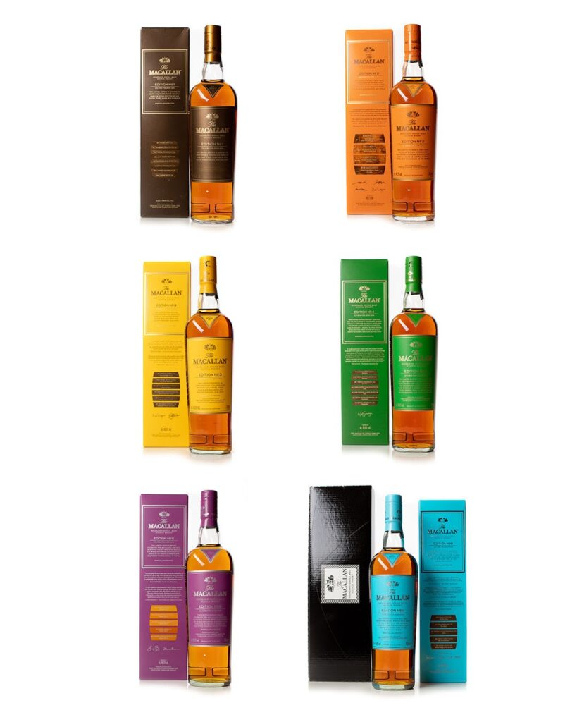 Buy the Macallan Edition Series NO.01-No.06