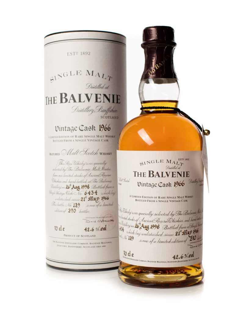Buy Balvenie 1966 32 year old vintage cask whisky online