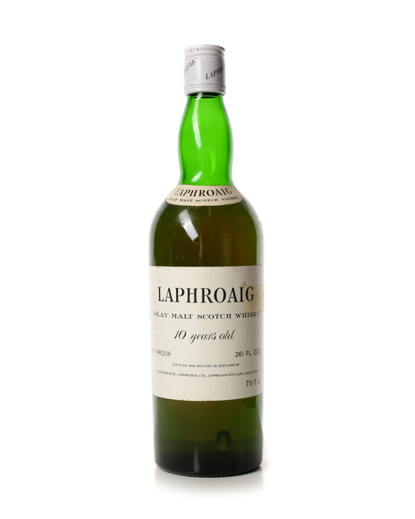 Buy laphroaig 10 year old 1970s whisky